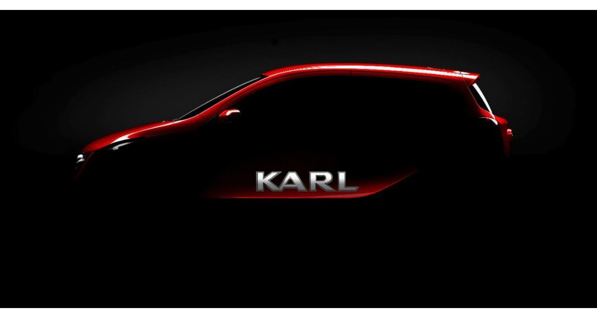 Opel Karl : une nouvelle mini citadine pour 2015
