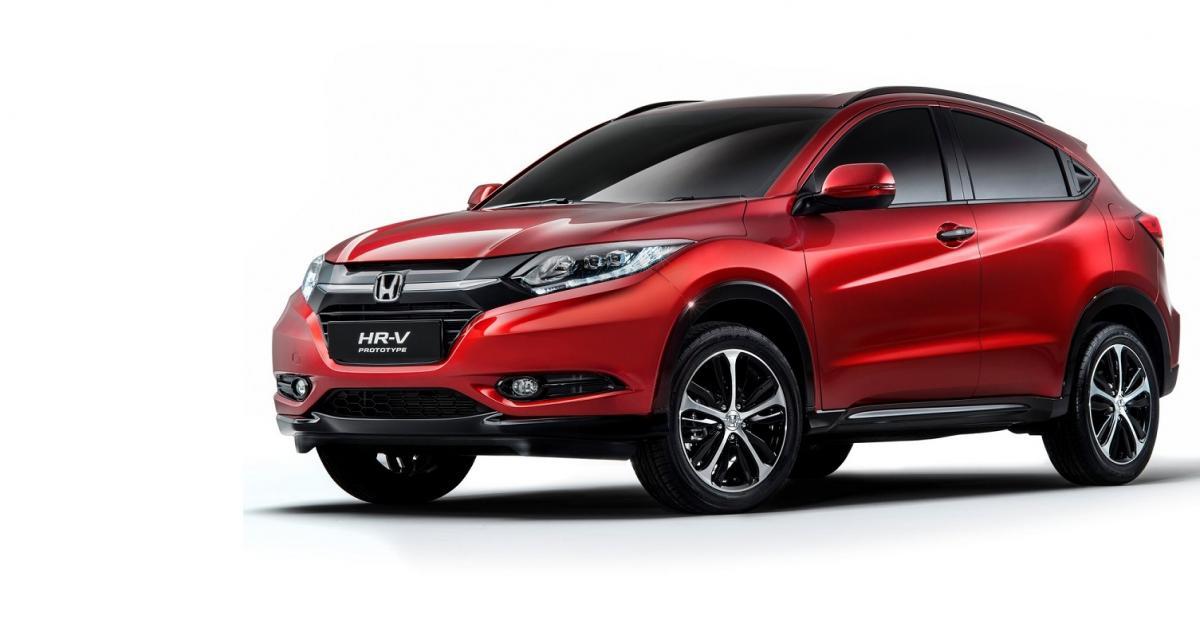 Le Honda HR-V sera au Mondial