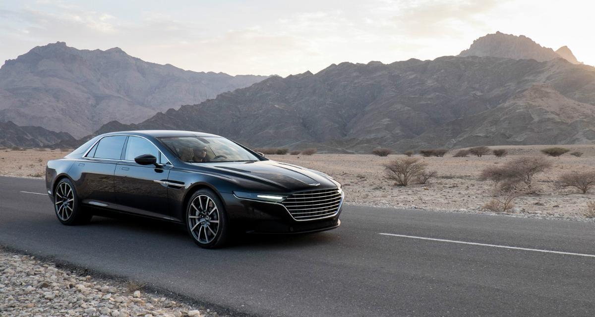 Aston Martin Lagonda : une limousine très exclusive