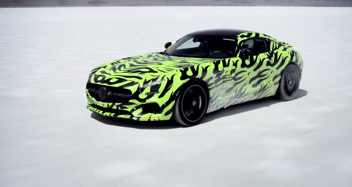 Mercedes-AMG GT : suivez la présentation en live