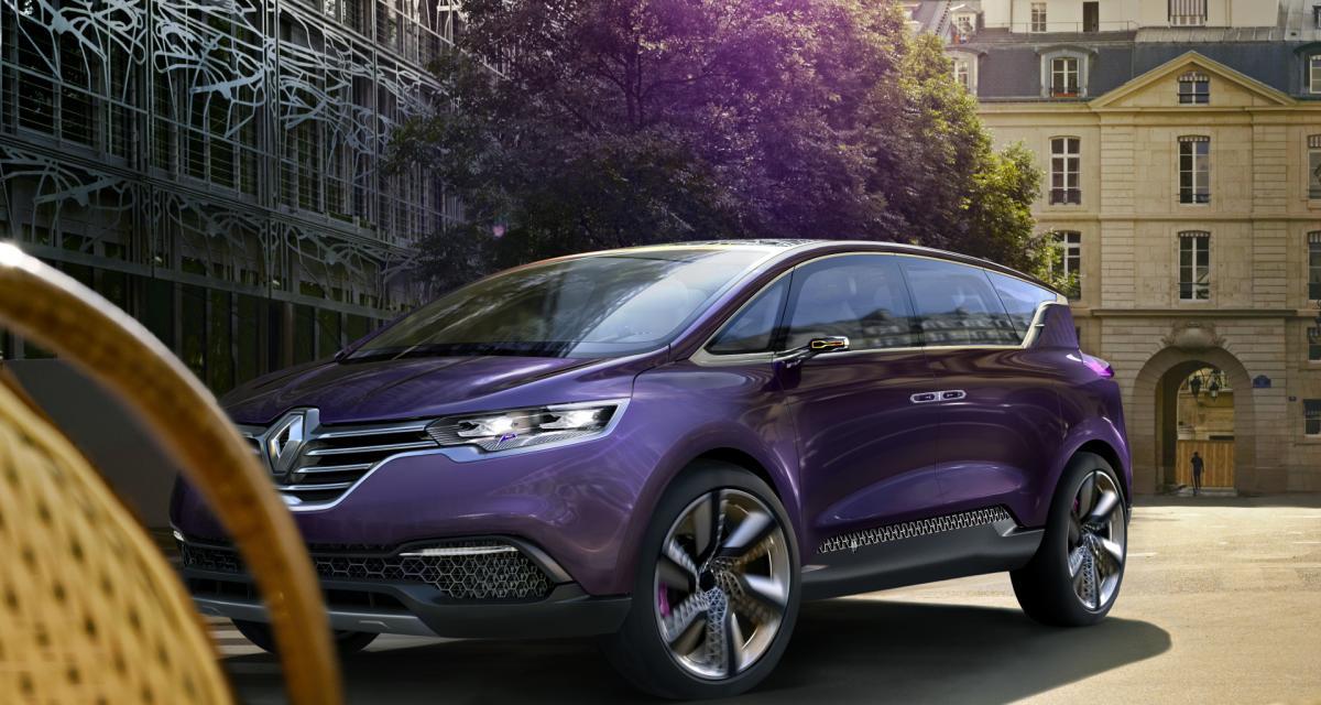 Le remplaçant du Renault Espace sera bien à Paris