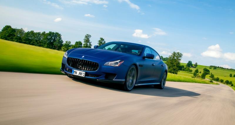Maserati Quattroporte par Novitec : juqu'à 605 ch pour la berline transalpine