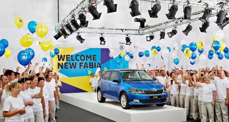 Nouvelle Škoda Fabia : la production a débuté