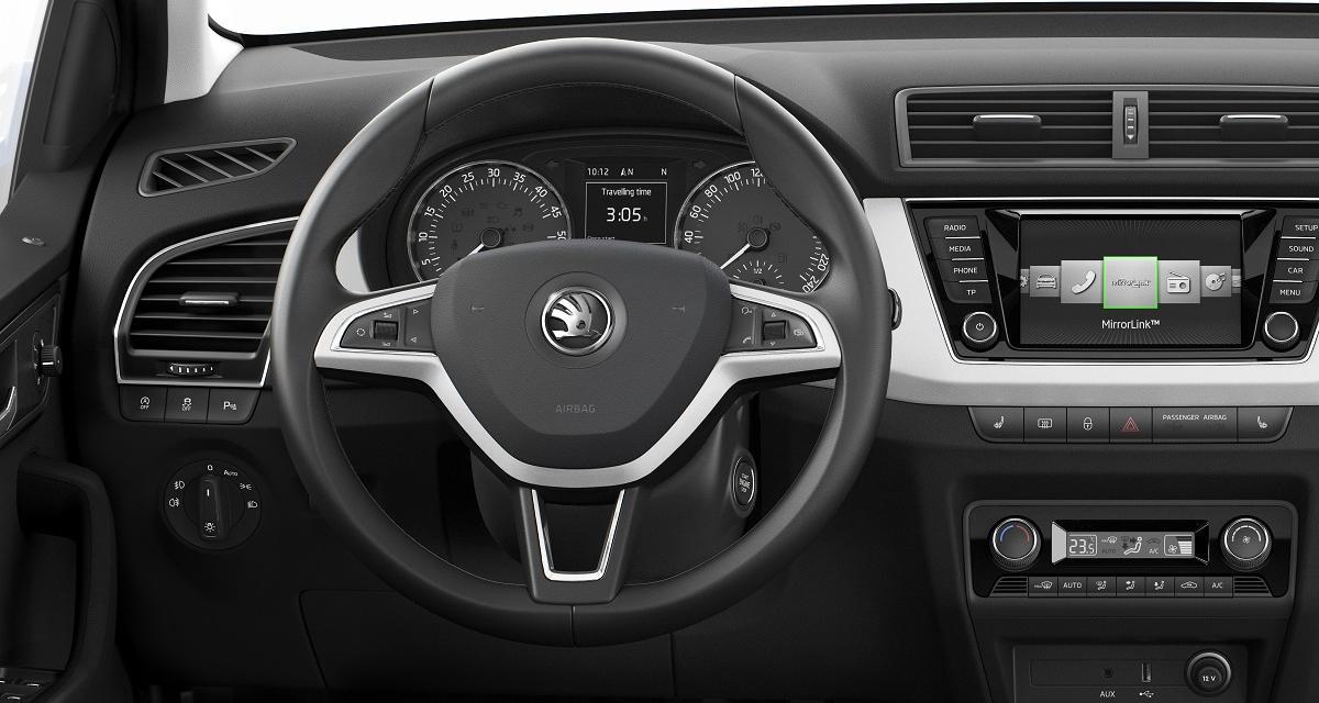 Nouvelle Škoda Fabia : petite mais spacieuse