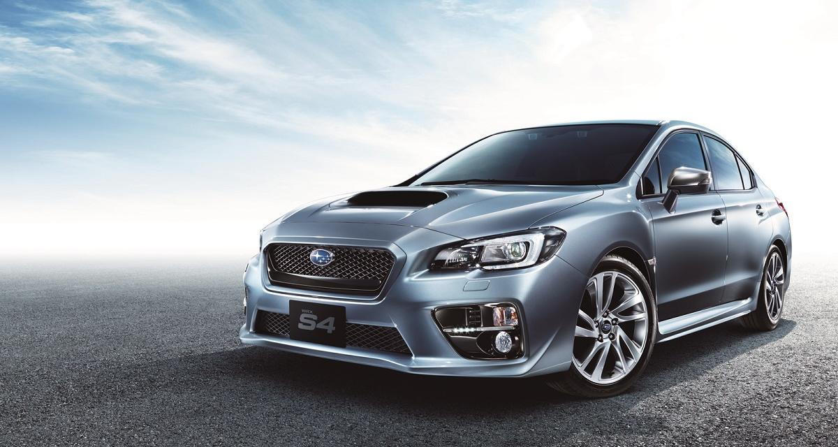 Subaru WRX S4 : une version bourgeoise et sportive pour le Japon