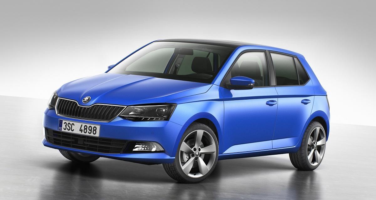 Nouvelle Škoda Fabia : en images avant le Mondial de l'Auto