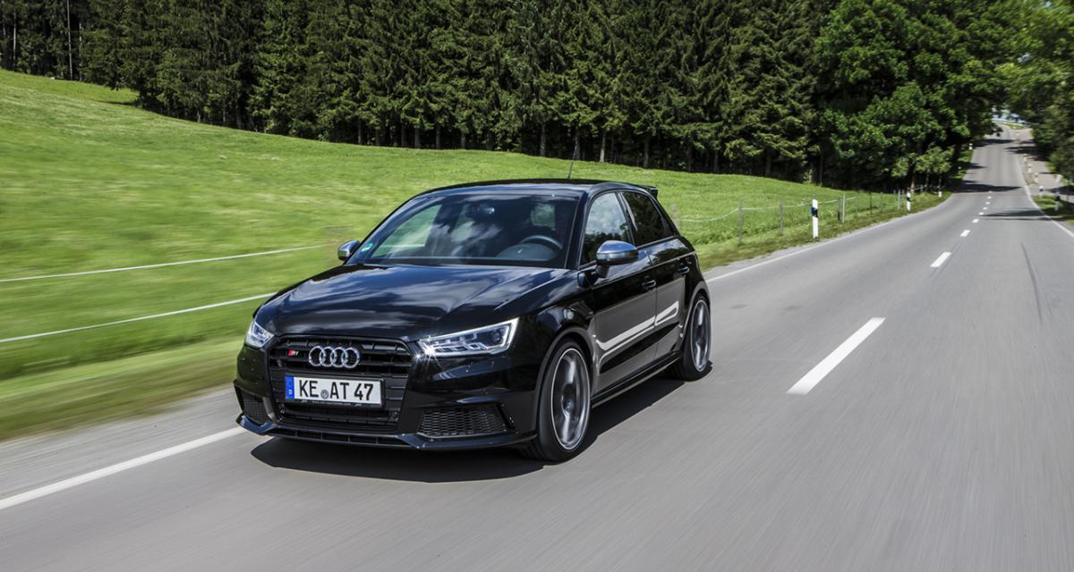Audi S1 par ABT : 310 ch et 440 Nm