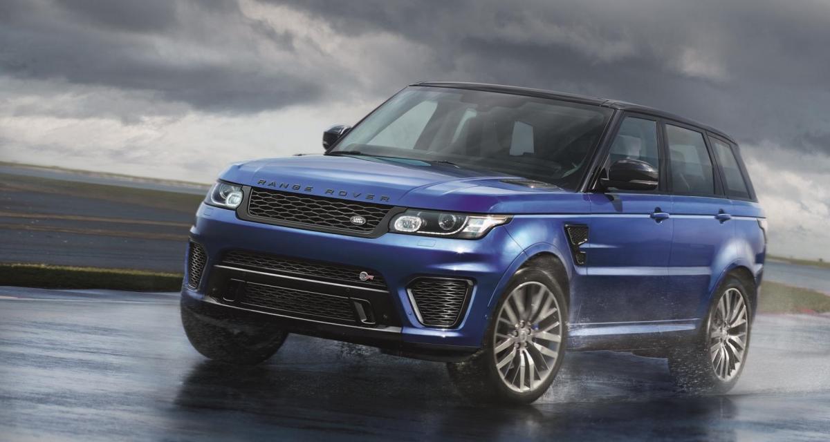 Range Rover Sport SVR : le SUV qui sent le Jaguar