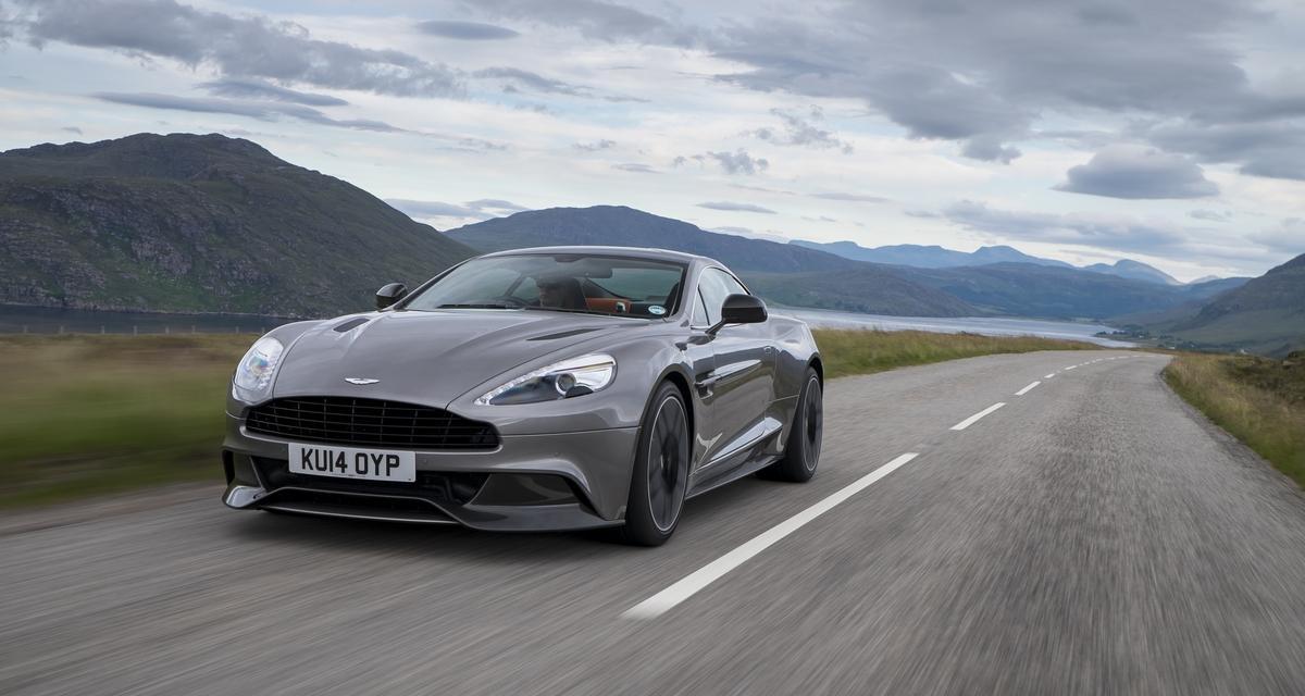 Aston Martin : une boîte auto huit rapports pour les Vanquish et Rapide S