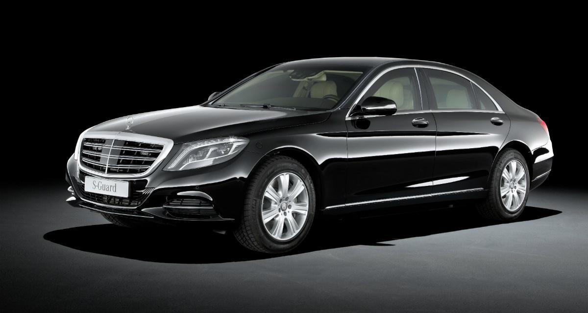Mercedes S600 Guard : la limousine qui résiste aux grenades