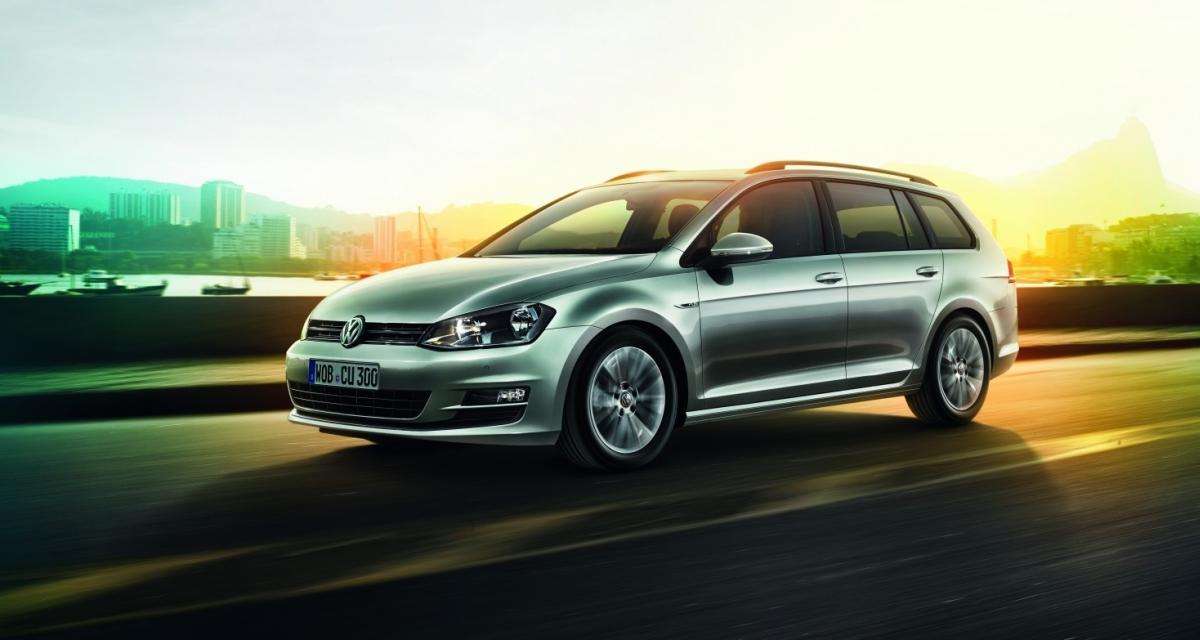 """Volkswagen Golf SW : la série spéciale """"Cup"""" fait son entrée"""