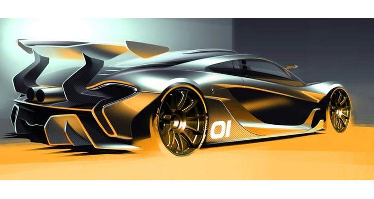 McLaren P1 GTR : première esquisse officielle