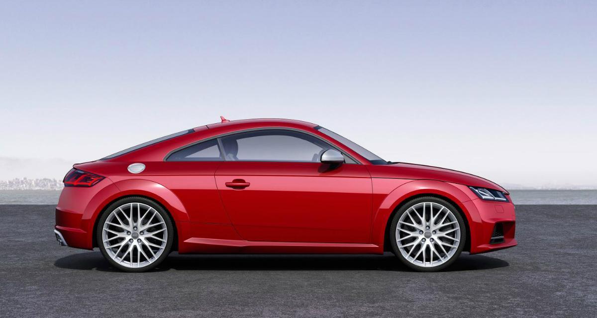 Audi TT : les tarifs du nouveau modèle