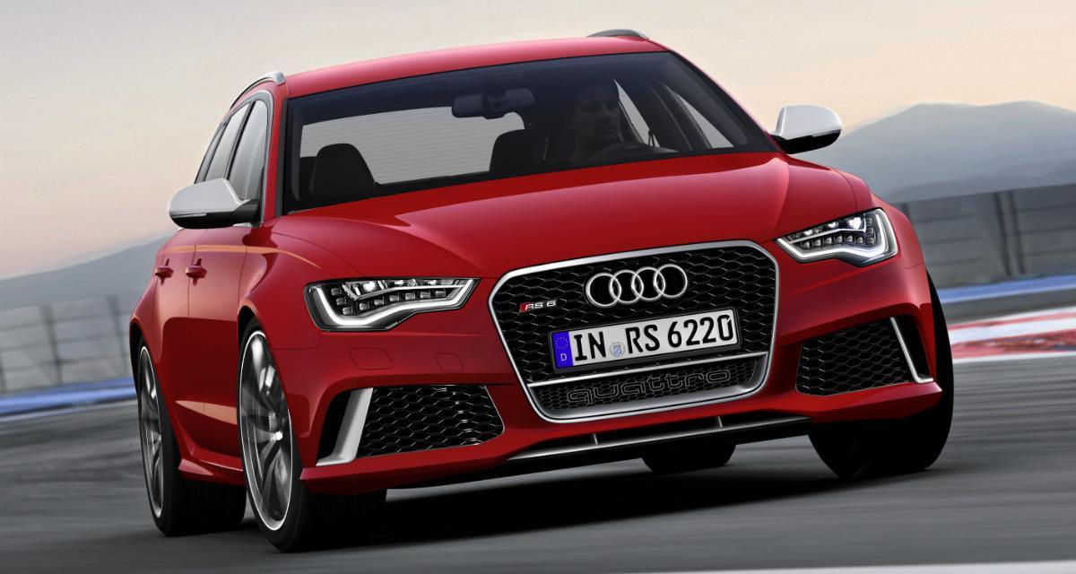 """Audi RS6 : une version """"plus"""" de 600 ch en préparation"""
