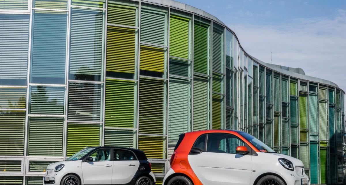 Les voitures de la semaine : Smart Fortwo et Forfour
