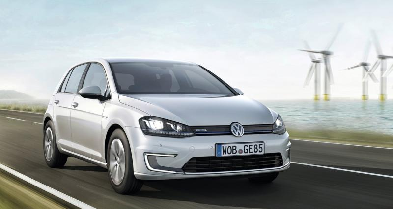 Volkswagen e-Golf : les commandes sont ouvertes