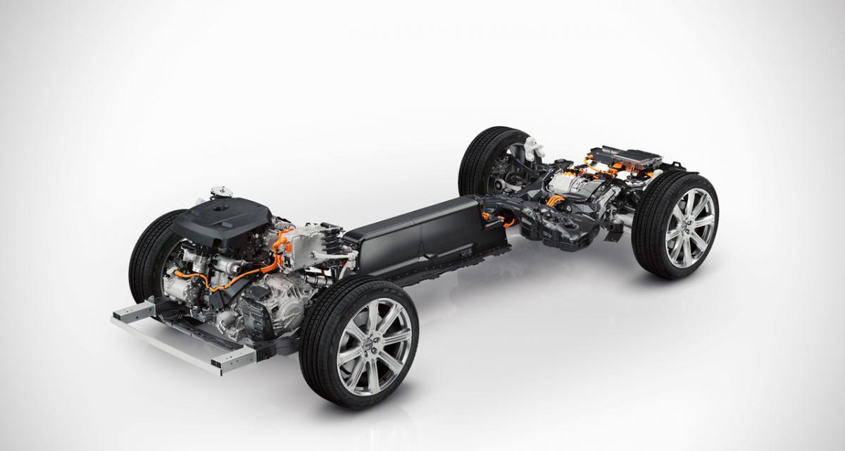 Futur Volvo XC90 : une version hybride rechargeable de 400 ch