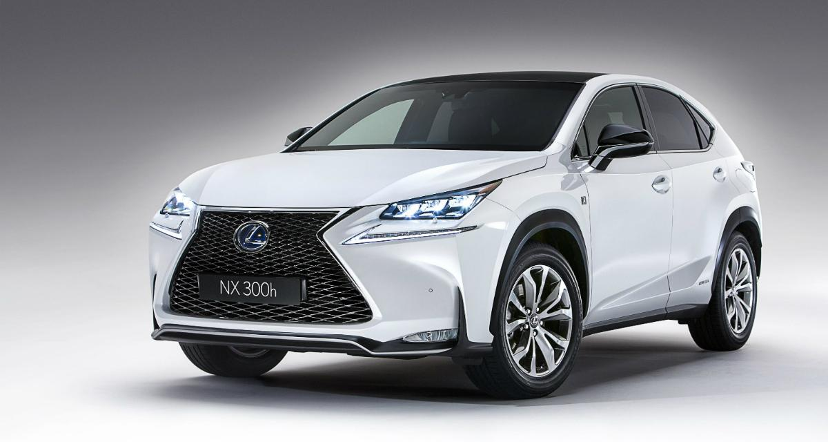 Lexus NX : les tarifs