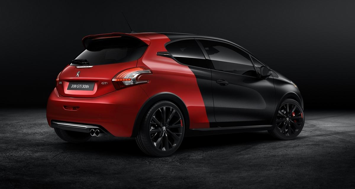 La voiture de la semaine : Peugeot 208 GTi 30th