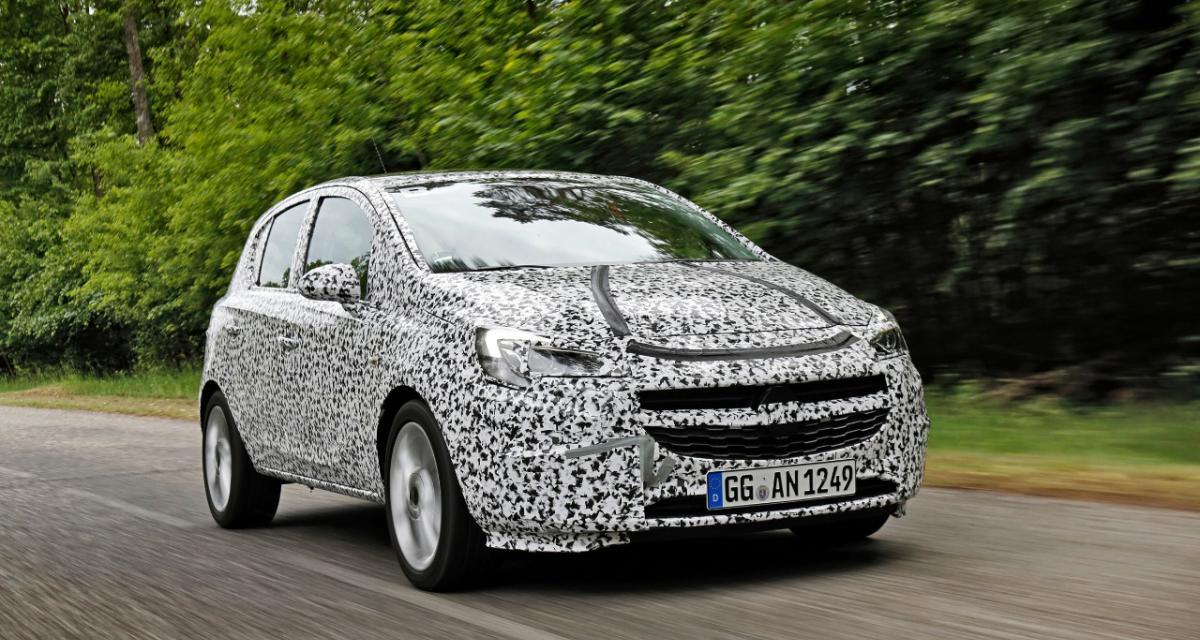 Opel Corsa E : présentation imminente