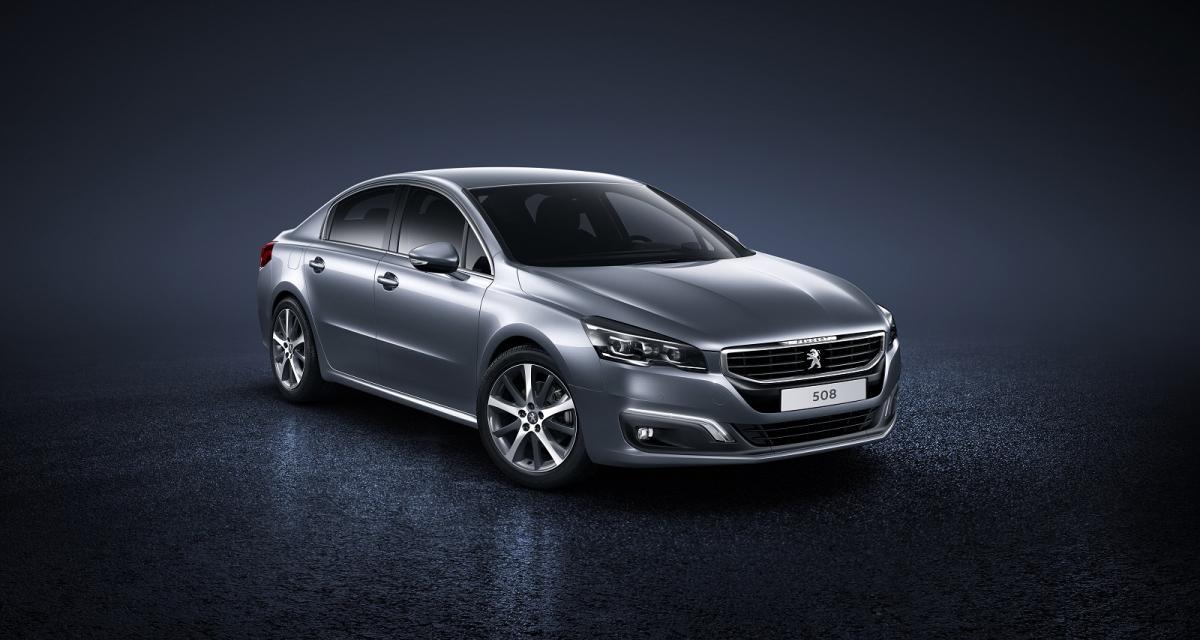 Peugeot 508 restylée : toutes les infos
