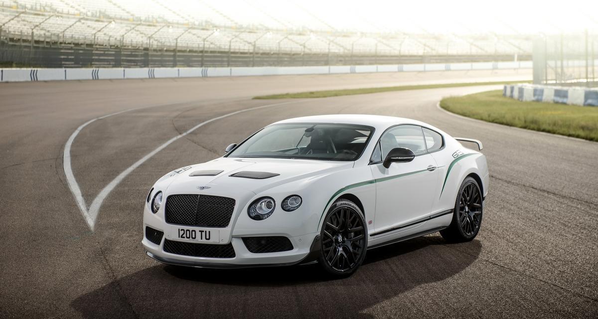 Bentley Continental GT3-R : l'athlète aux semelles de plomb