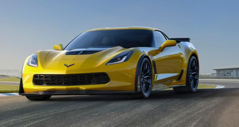 Chevrolet Corvette Z06 : 660 ch, c'est officiel