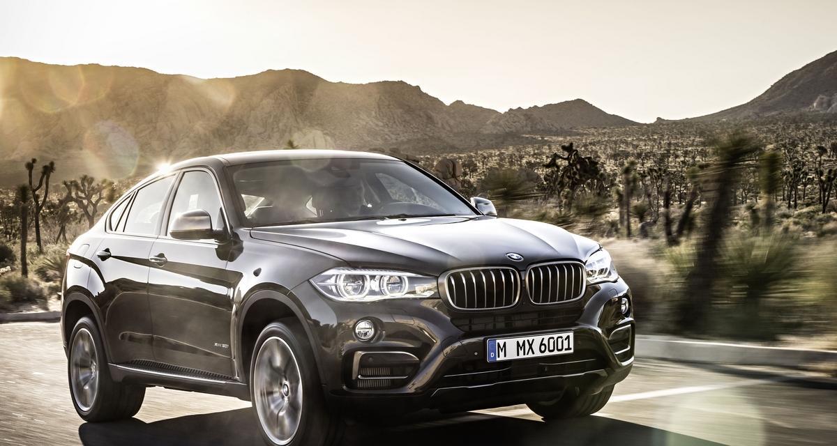 Le nouveau BMW X6 fait son entrée