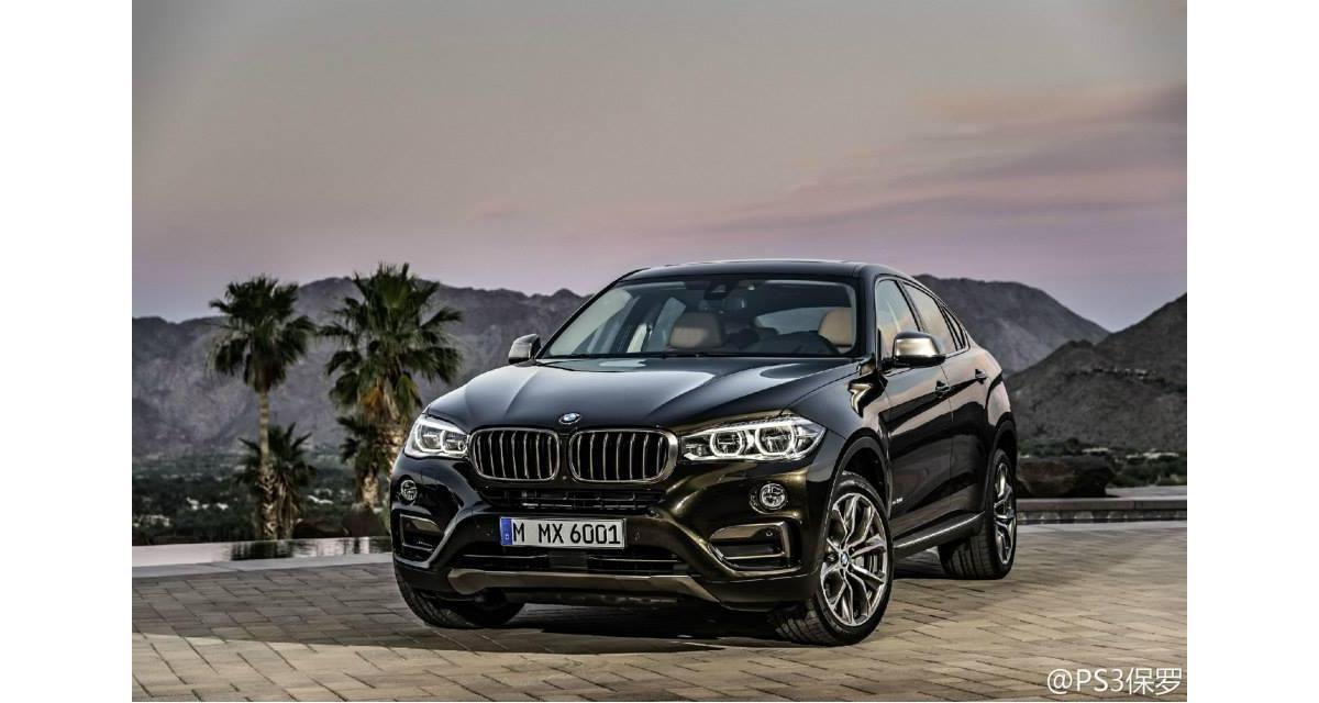 Nouveau BMW X6 : des photos avant l'heure