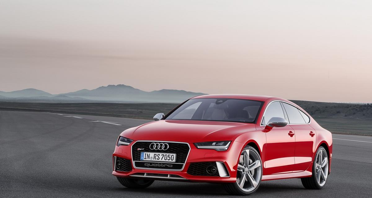 Audi RS7 Sportback : elle change de regard, mais pas de moteur
