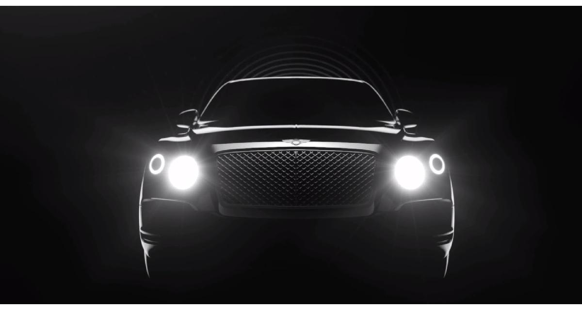 Le SUV Bentley tout en transparence