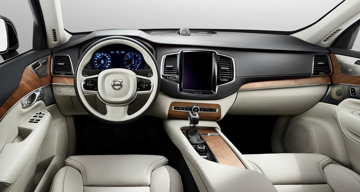 Volvo lève le voile sur l'intérieur du prochain XC90