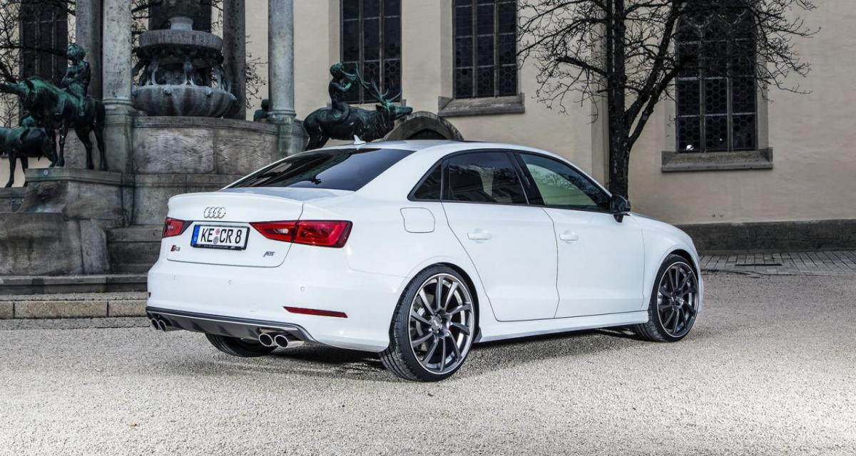ABT s'attaque à l'Audi S3 Berline