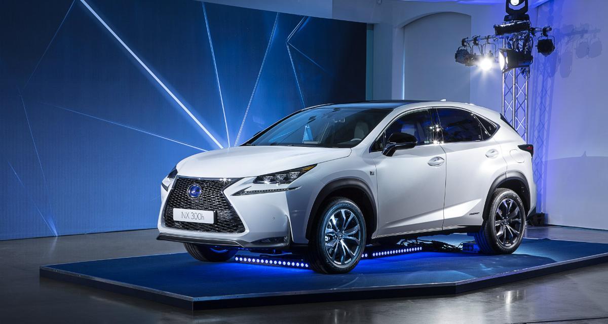 Lexus NX : toutes les informations