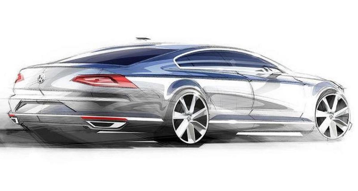 Volkswagen Passat : premières esquisses du nouveau modèle