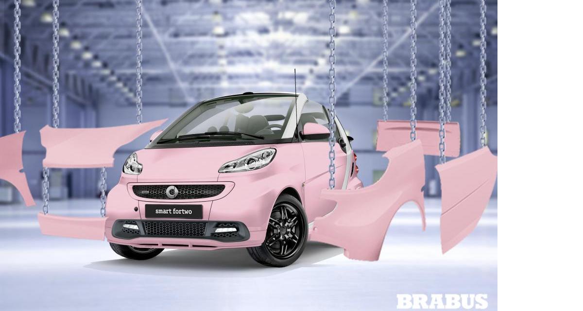 Smart Brabus Fan Edition : votez pour votre configuration préférée