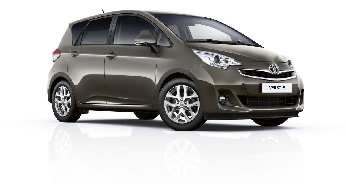 Toyota Verso S restylé : pour le principe