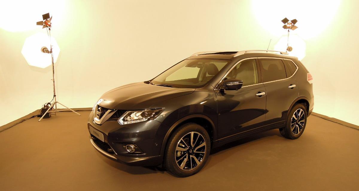 Nissan X-Trail : premier contact en studio