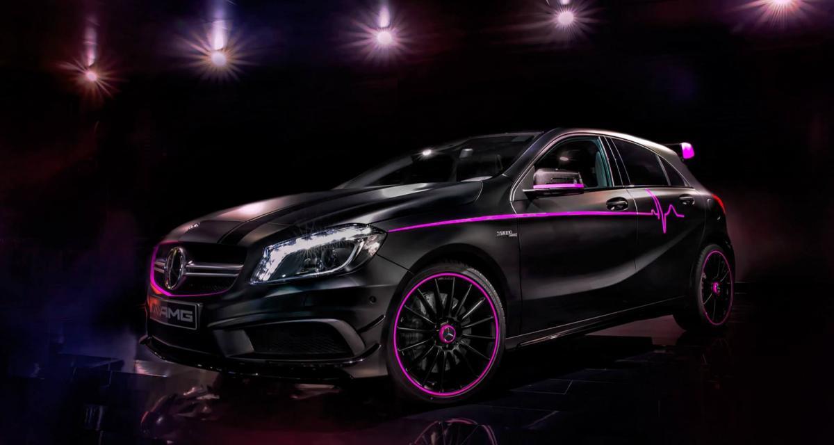 Mercedes présente une A 45 AMG nommée Erika
