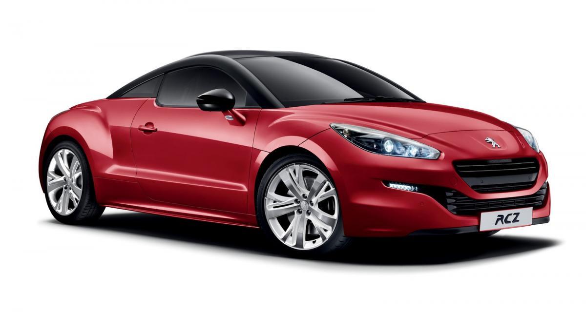 """Le Peugeot RCZ s'offre une version """"Red Carbon"""""""