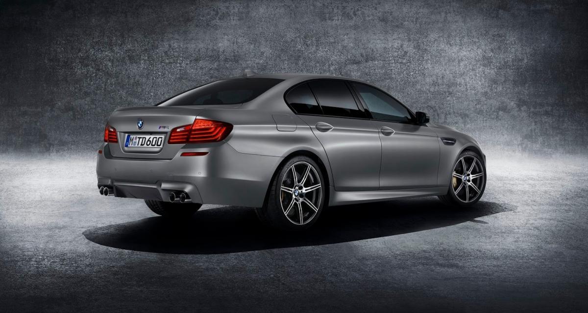 """BMW M5 """"30 Jahre M5"""" : 600 ch pour un anniversaire"""