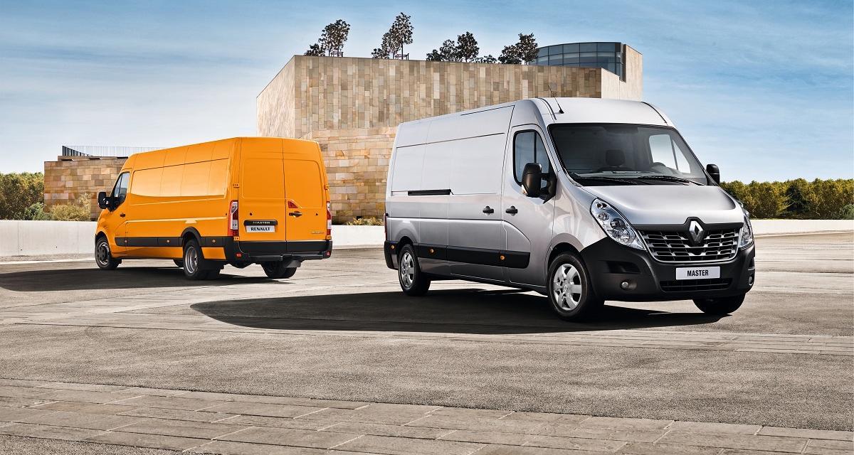 Le Renault Master revoit son look et ses moteurs