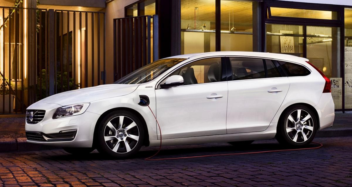 Volvo V60 Plug-in Hybrid 2015 : plus de sécurité et une version R-Design