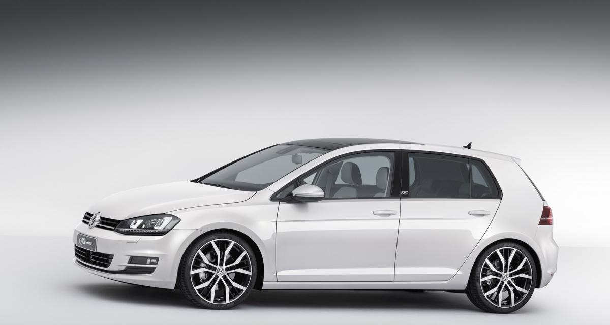 Volkswagen fête les 40 ans de la Golf avec l'Edition Concept