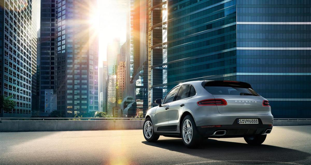 Le Porsche Macan disponible avec un 4 cylindres