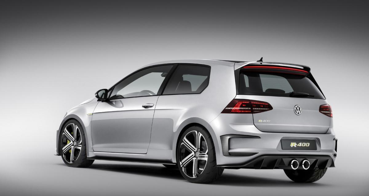 Volkswagen Golf R 400 : elle sera produite