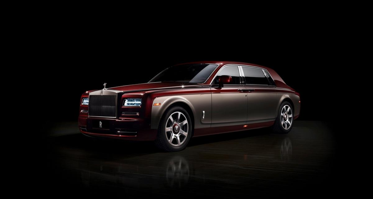 Rolls-Royce Pinnacle Travel Phantom : une limousine pour Pékin