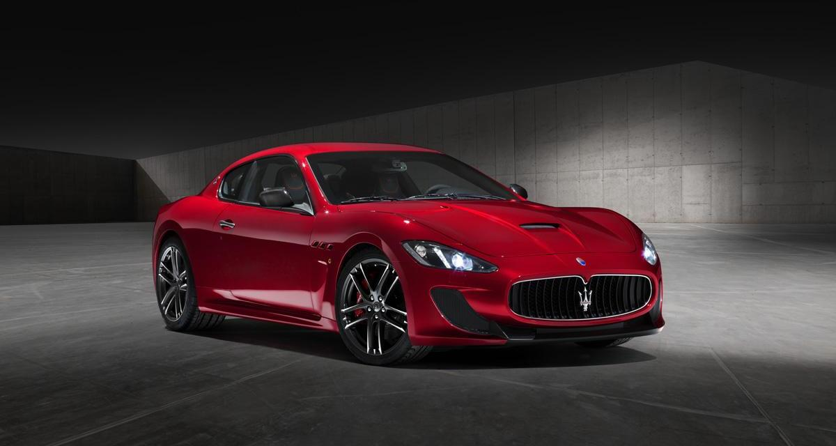 Maserati GranTurismo et GranCabrio Centennial : pour les cent ans du Trident