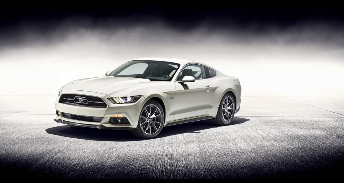 Ford Mustang 50 Year Limited Edition : toujours jeune