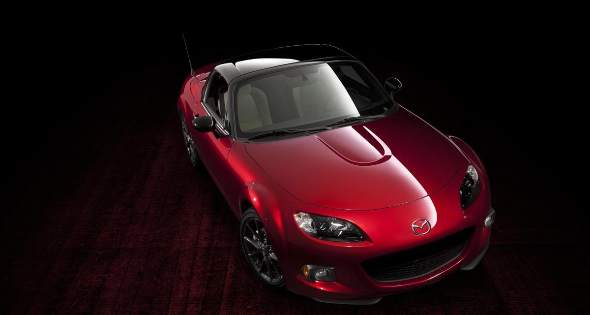 La Mazda MX-5 fête ses 25 ans au salon de New York